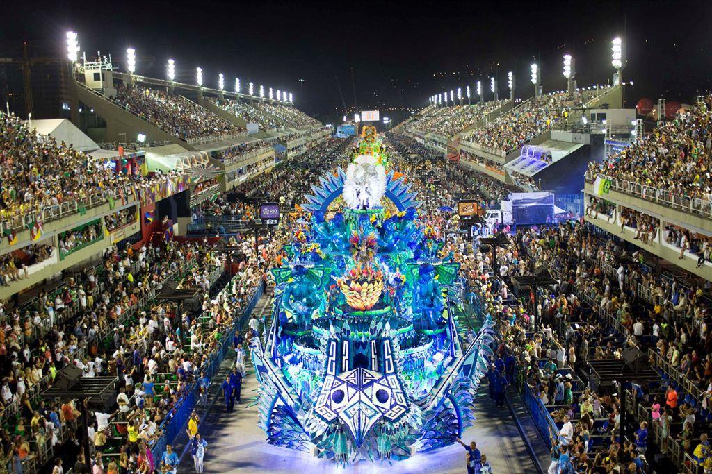 کارناول های جذاب برزیل