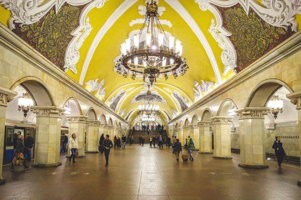 سفر به روسیه : مترو روسیه