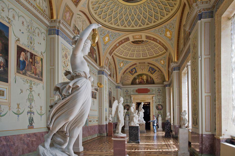 سفر به روسیه : تاریخ هنر