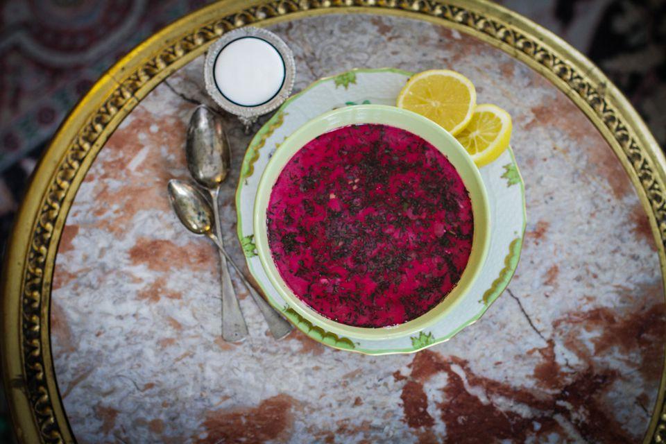 سفر به روسیه : غذاها و نوشیدنی ها