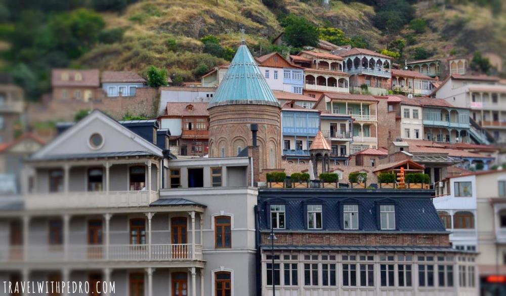 معماری ساختمان های گرجستان