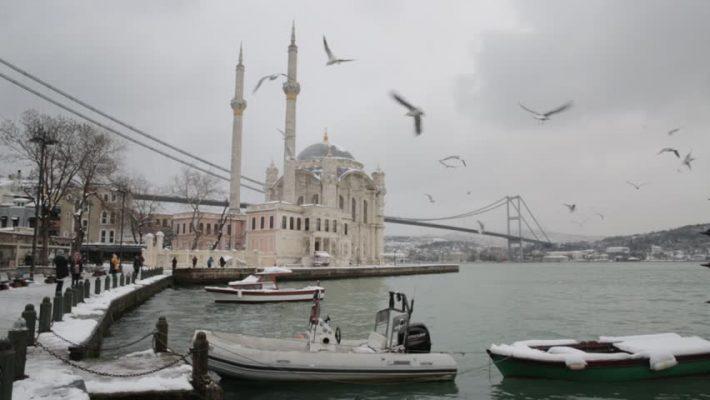 استانبول برفی